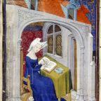 """Compiuta Donzella. La prima poetessa della lingua volgare italiana. XIII secolo."""" Lasciar voria lo mondo, e Dio servire"""""""