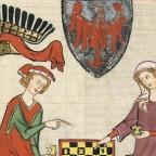 """Leonora della Genga. """"Coprite, o muse, di color funebre"""". XIV secolo"""